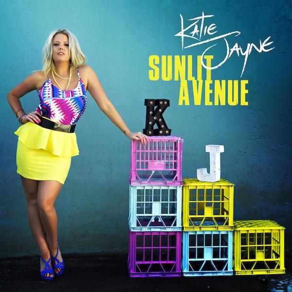 Katie Jayne - Sunlit Avenue (single cover)