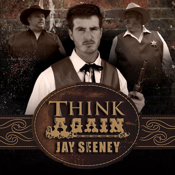 Jay Seeney - Think Again (single cover)