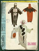 1968 vintage Halloween patterns
