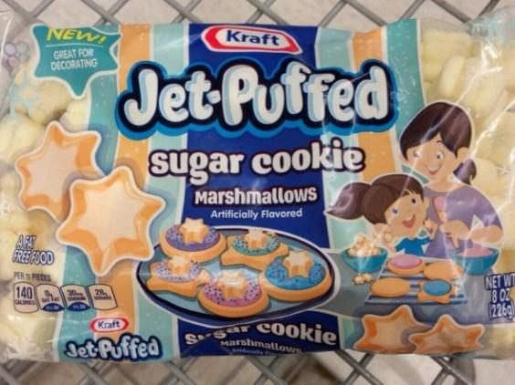 Sugar cookie marshmallows