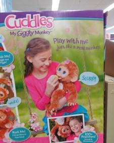 Cuddles My giggly monkey