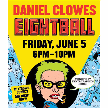 Daniel Clowes Eightball Friday, June 5