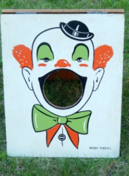 Clown Cornhole
