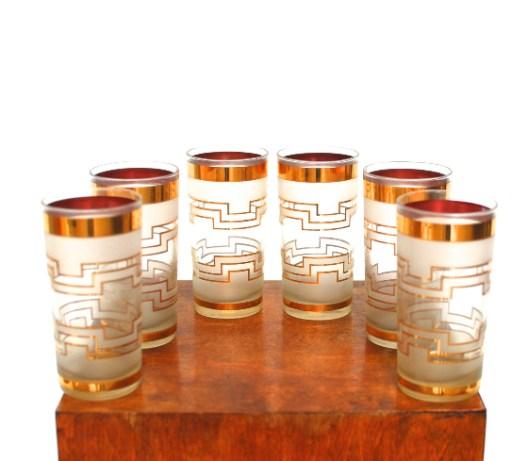 Culver highball glasses