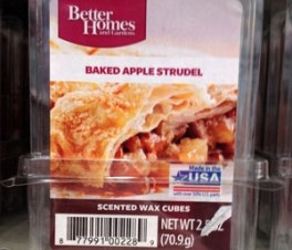Better Homes and Gardens Scented Wax Cubes Baked Apple Strudel