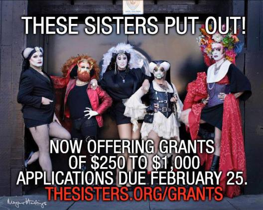 Sisters of Perpetual Indulgence grants