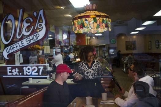 Dolores Jeanpierre of Ole's Waffle Shop