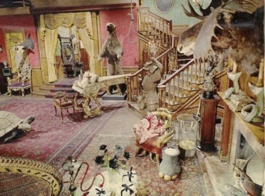 Set of the Addams Family