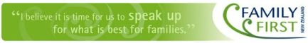 """""""I believe it is time for us to speak up for what is best for families."""" family issue"""
