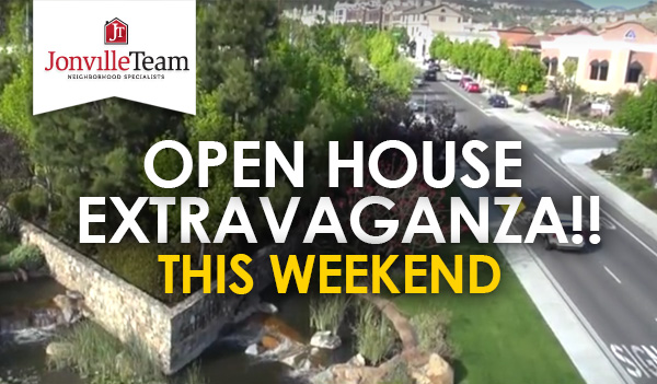 Open House Extravaganza - This Weekend! Check out these beautiful homes!