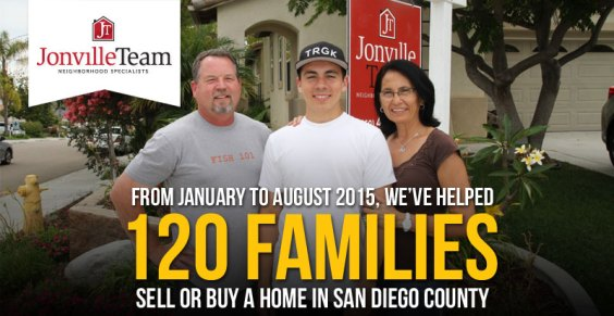 The Jonville Team - We've Helped 120 Families Sell or Buy a Home