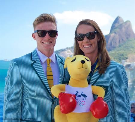 Jordan & Alyce in Rio - Photo Sportscene Rob van Bommel