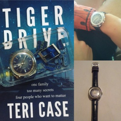 Tiger Drive Blue Watch Teri Case