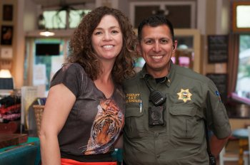 Sgt. Daniel Gonzales Carson City and Teri Case