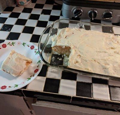Betty Crocker Cherry Chip Cake