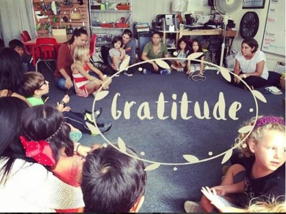 Gratitude Circle - Nature Growers
