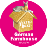 Yeastie Boys: German Farmhouse (keg badge)