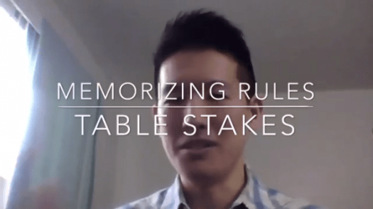 """It's not about just memorizing rules because that table stakes. Everyone is doing it. You need to do that. That's just a minimum requirement, just a cost of entry."""