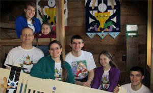 The Butek Family at Illuminated Ink