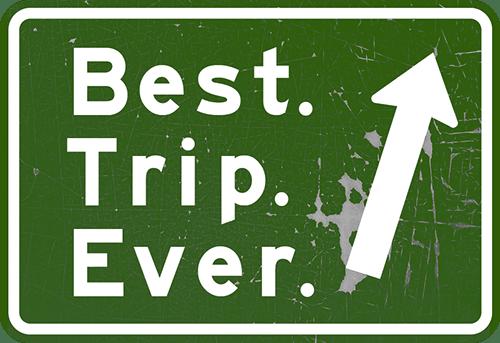 Qual foi sua melhor viagem? 3