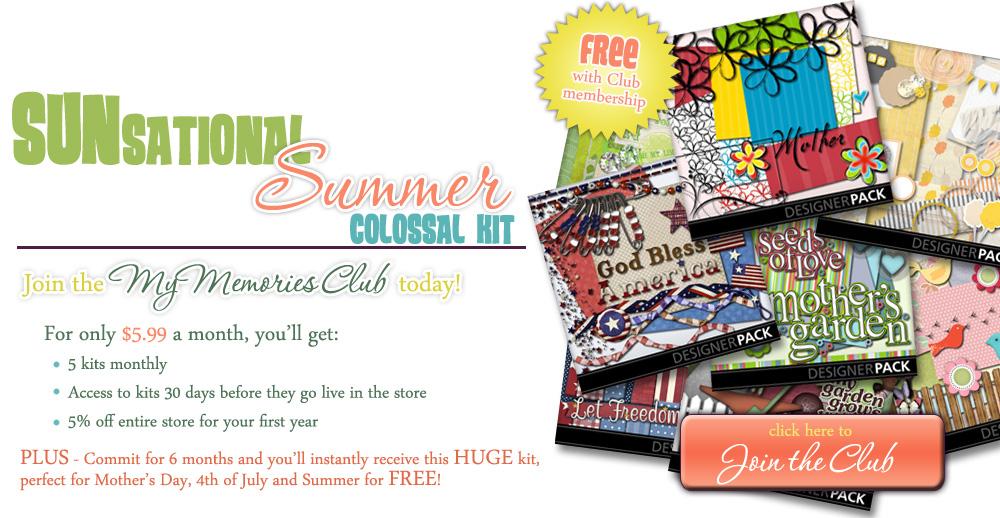 SUNsational Summer MyMemories Club Offer