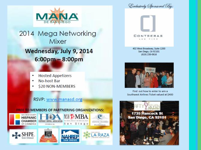 MANA Mega Networking Mixer