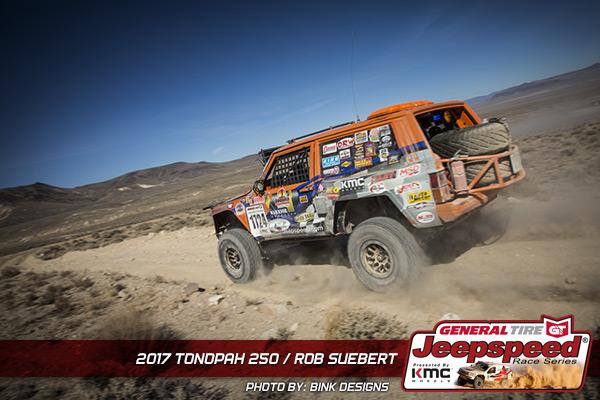 Jeepspeed, Rob Suebert, General Tire, KMC Wheels, Bink Designs, Best In The Desert, Tonopah 250