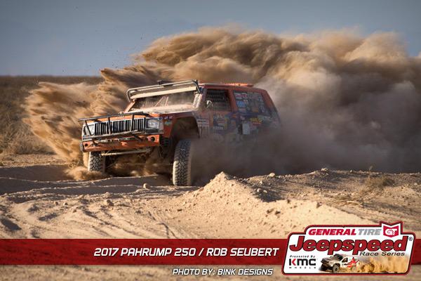 Rob Seubert, Jeepspeed, General Tire, KMC Wheels, King Shocks, Pahrump 250, Bink Designs