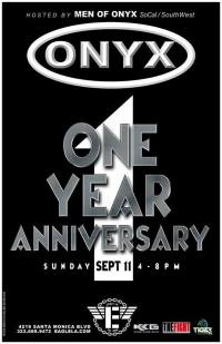 ONYX-SW 1yr Annivesary Poster