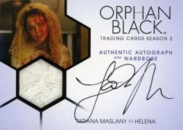 Orphan Black Trading Cards Season 2 - Autograph
