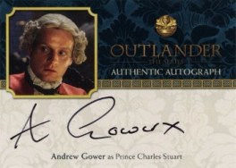 Andrew Gower Autograph Card