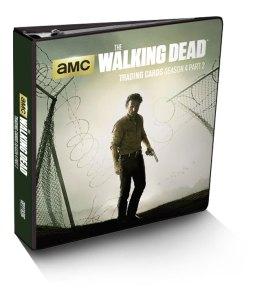 The Walking Dead Season 4, Part 2 Trading Card Binder
