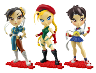 Street Fighter Knockouts - Series 1