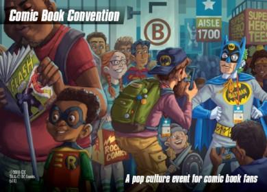 DC Spyfall Promo - Comic Book Convention