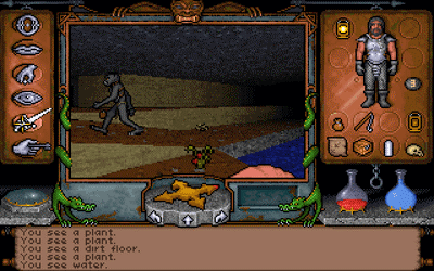 Ultima Underworld image with goblin