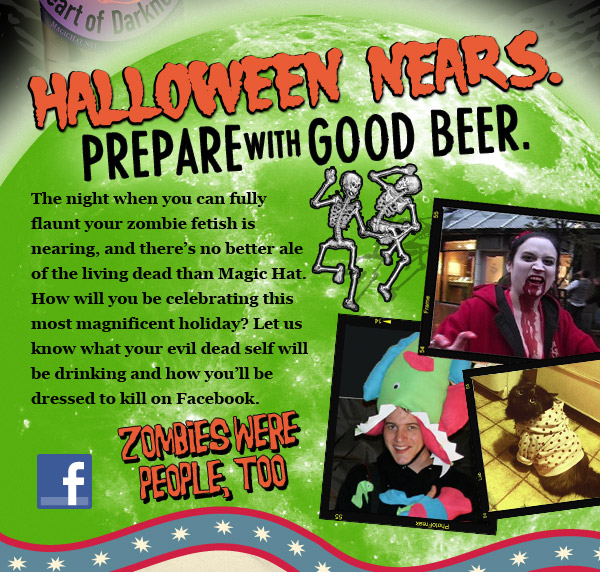 Halloween Nears - Prepare w/ Good Beer