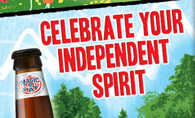 Celebrate Your Independent Spirit - Apres-ski, and life in general, just got better for those of you living outside the great state of Vermont.