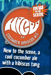 HiCü – New to the Scene, A Cool Cucumber Ale with a Hibiscus Tang