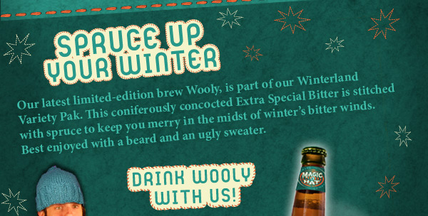 Drink Wooly with Us!