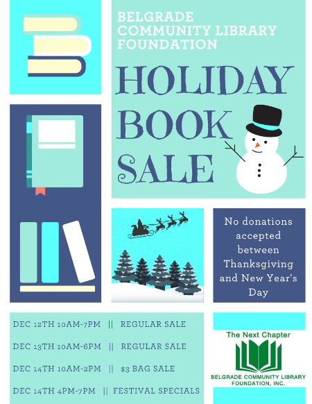 2019 Holiday Book Sale