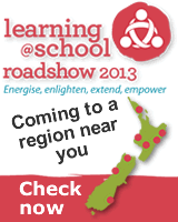 Learning@School Roadshow 2013 Conference