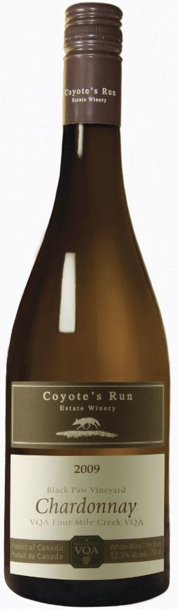 Coyote's Run Black Paw Vineyard Chardonnay 2009