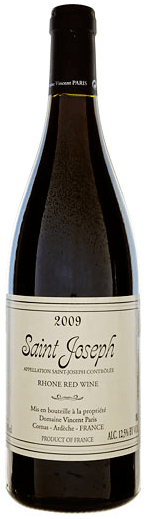 Domaine Vincent Paris Saint Joseph 2009