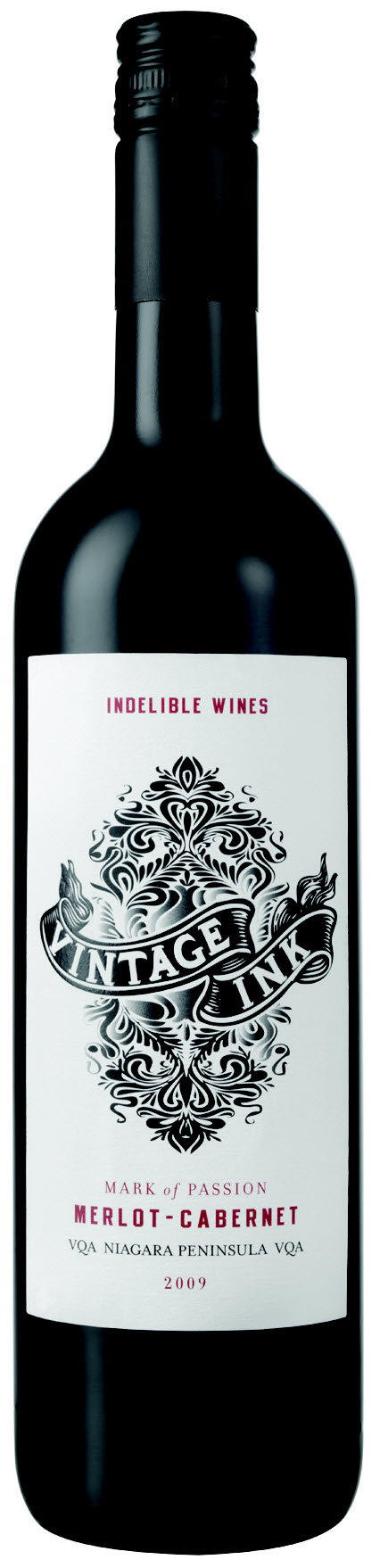 Vintage Ink Mark Of Passion Merlot/Cabernet 2009