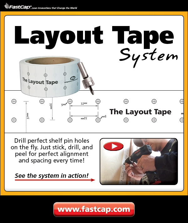 FastCap's Layout Tape
