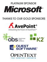 Australian SharePoint Conference SPONSORS