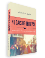 40 Days of Decrease