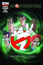 [Ghostbusters #1 Second Printing Image]
