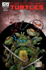 [Teenage Mutant Ninja Turtles #1 Cover]