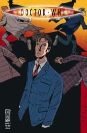 [Doctor Who, Vol 1: Fugitive cover]